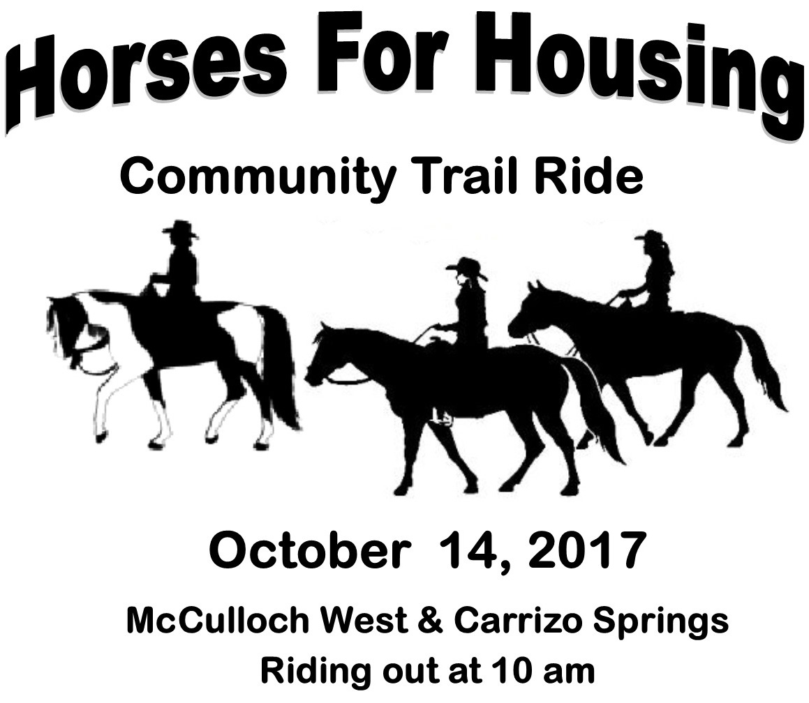 Horses for Housing Community Trail Ride